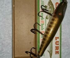 Vintage C C B Pikie Fishing Lure Glass Eye