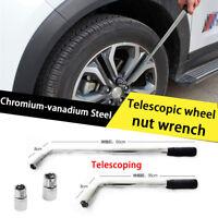 Lug Nut Wrench Extendable Wheel Socket Tyre Repair Tool   (17/19MM) & (21/23MM)