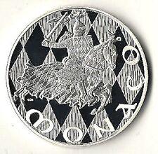 MONACO Medaglia in argento 1297-1997, 700 anni della dinastia di GRIMALDI