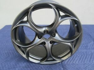 "2017 - 2019 ALFA ROMEO GUILIA OEM 19"" DARK GRAY REAR WHEEL 1516119164 #88-10"