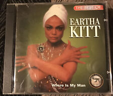 Best of: Where Is My Man by Eartha Kitt (CD, 1995)