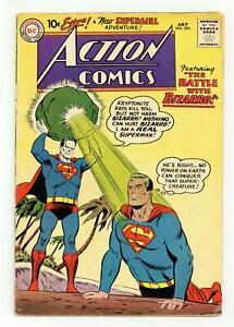 Action Comics #254 VG 4.0 1959 1st meeting Bizarro & Superman