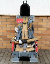 EJECTION SEAT COMPLEATE WITH PARACHUTE AIRCRAFT SOVIET ARMY POLISH JET TS ISKRA
