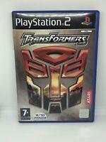 Transformers Armada PS2 PlayStation 2 PAL Game  Robot Action Shooter NO MANUAL