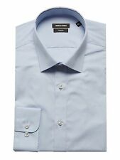 "Remus Uomo Tapered Fit Shirt/Blue - 16.5"" SRP £36.00 (18300/22)"