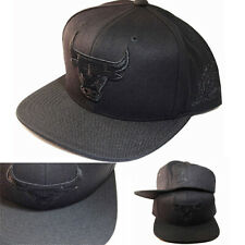 Mitchell & Ness Chicago Bulls Black Snapback Hat 1993 NBA Final Side Patch Cap