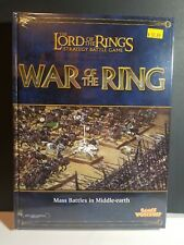 New- War of the Ring Battlehosts Rule book WOTR LOTR Lord of the Rings Warhammer