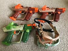 Tiger Laser Tag Guns Lot Of 3 Excellent Condition Tested  Working