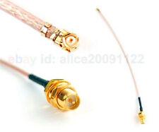 u.fl RP SMA FritzBox Adapter ufl Kabel IPEX RSMA Pigtail HIROSE WLAN Antenne x10