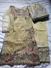 Pakistani designer Serene wedding salwar kameez stitched