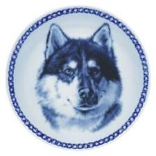 Canadian Eskimo Dog - Dog Plate made in Denmark from the finest European Porcela
