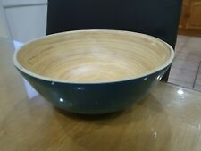 Bamboo Laquered  Bowls Home Dining Dessert Food Serving  Kitchenware Craster