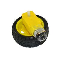 Gear TT Motor DC 3V-6V+Tire Wheel Replace Parts For Arduino DIY Smart Car Robot