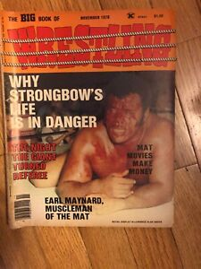 THE BIG BOOK OF WRESTLING {MAGAZINE}----NOVEMBER 1978 ISSUE