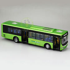 1:42 Scale Diecast Bus Car Models,YuTong Electric City Bus Model,E12
