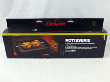 Sunbeam Cordless Battery Operated Grilling Rotisserie #0289 Fits Most Gas Grills