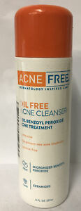 Acne Free Oil Free Acne Cleanser 8 fl oz- NEW