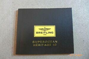 Breitling  SuperOcean Heritage 42 Manual