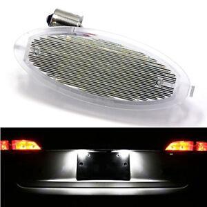 Lighting Plate LED Vauxhall Astra G Cut Bertone 1998-2004 Lights White Xenon