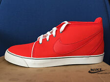 NIKE MENS TOKI ND Urban Casual Shoes Sneakers gym RED White Canvas Japan Sz 11.5