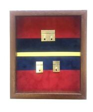 Large Royal Artillery Double Medal Display Case.