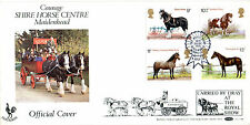 5 JULY 1978 SHIRE HORSES BENHAM BOCS4B CARRIED FIRST DAY COVER KENILWORTH SHS
