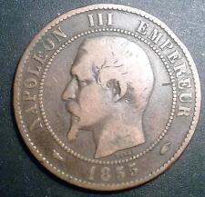 10 CENTIMES NAPOLEON 3  1855  A