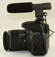 Condenser Stereo Microphone For Pentax K1 K3 K70 Kp T7I 750D 650D 700D EOS 77D
