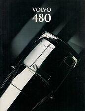 Volvo 480 1993-94 UK Market Sales Brochure Turbo ES S
