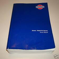 Werkstatthandbuch Nissan Almera N15 Serie ab 07/1995