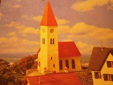 Faller H0 130238 Dorfkirche mit Friedhofsmauer in 2 neuen Varianten Bausatz NEU