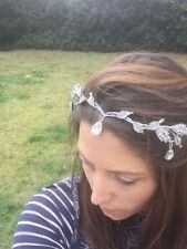 Bridal Tiara Rhinestone Crown Wedding Prom Headpiece Headband Lord of the rings