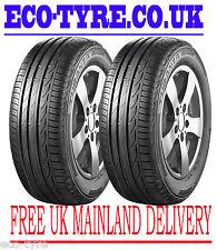 2X Tyres 215 60 R17 96H Bridgestone Turanza T001 C B 70dB