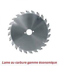 Lame de scie circulaire carbure dia 180 mm al 20 - 24 dents (bricolage)