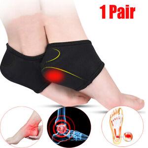 Heel Cushion Socks Plantar Fasciitis Achilles Tendonitis Calluses Inserts Pads