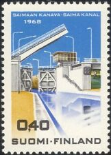 Finlande 1968 ouverture de saima canal/Lock Gate/transport/bateaux 1 V (n43007f)