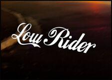 Low Rider coche decal sticker Jdm Vw Dub Vag euro Carrera Drift Funny