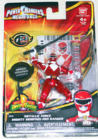 Power Rangers Megaforce Jason Bandai Metallic Red Mighty Morphin Action Figure