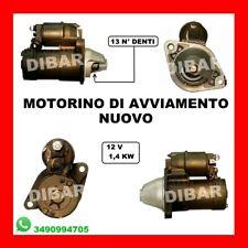 MOTORINO DI AVVIAMENTO OPEL CORSA C 1.7 DI 16V 48KW DAL 2000 Y17DTL S114829