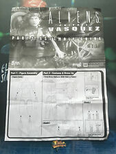 Hot Toys Aliens USCM Colonial Marine Pvt Vasquez Leaflet loose 1/6th scale