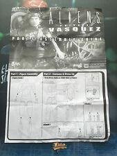 Hot Toys Aliens USCM Colonial Marine Pvt Vasquez Leaflet loose 1/6th scale