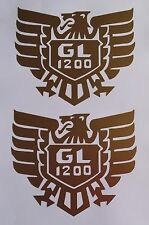 2 x Honda Goldwing GL 1200 decals/stickers
