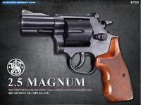 S&W M586 2.5 Magnum Revolver Hand Gun Toy Replica BB Pistol ABS