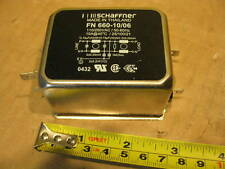 Schaffner FN 660-10/06 RFI Power Line Filter 10A 110/250V