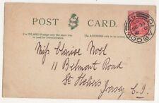 Glasgow [9] Scottish Postmark 26 Feb 1904 725b
