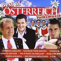 Best of Österreich Volksmusik/CD Album Neu (Zellberg Buam,Saso Avsenik,Hannah..)
