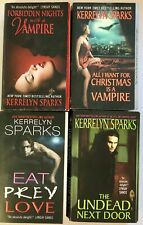 Kerrelyn Sparks Love At Stake Series Vampire Paranormal Lot of 4 Paperback Books