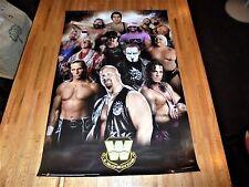 WWE Legends Poster 24 X 36 WWF SUPER COOL Ric Flair HBK Bret Hart Sting