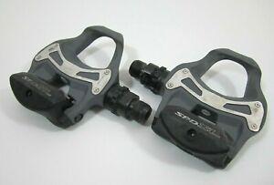 Shimano PD-R550 SPD-SL Road Bike Pedals Gray No Cleats