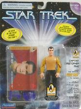 "Star Trek Captain Christopher Pike Playmates 4.5"" Action Figure 1997 5+ Carded"
